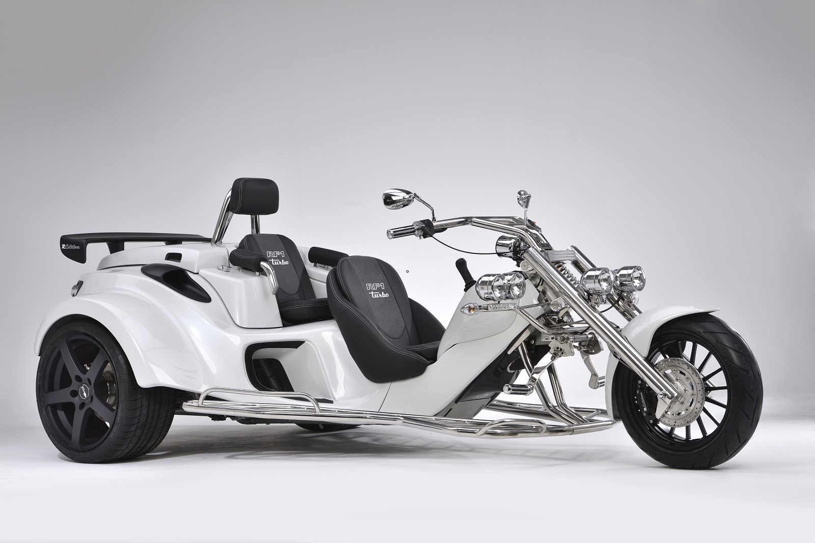 GT Turbo TOUROZ Trikes White